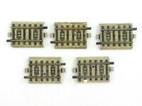 E57 Märklin H0 5108 5x M-Gleis Ausgleichsstück gerade *Note 4*
