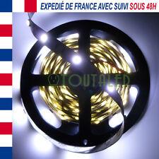 LED STRIP RUBAN BANDE 5M 12V 150 LED 5050 BLANC FROID 30 LED/M NON ETANCHE
