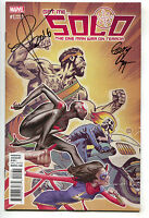 Solo 1 F Marvel Now NM Julian Totino Tedesco Signed Gerry Duggan Geoffrey Thorne