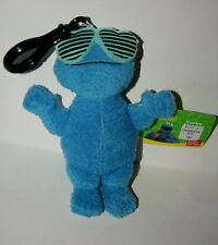 Mini Gund Cookie Monster Sesame Street Plush Back Pack Clip New Tags 2012