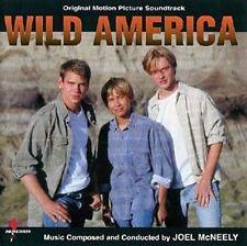 WILD AMERICA (PCD) (CD) Soundtrack Joel McNeely