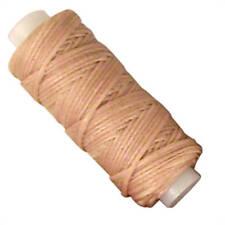 Beige Waxed Braided Cord 25 Yard Sewing Thread 11210-04 Tandy Leather