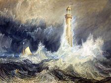 8 x 6 Art Lighthouse Sailboat Ceramic Mural Backsplash Bath Tile #2153
