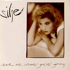 """SILJE 'TELL ME WHERE YOU'RE GOING' UK PICTURE SLEEVE 7"""" SINGLE"""