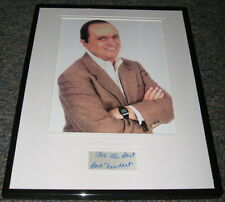 Bob Newhart Signed Framed Photo Display 11x14