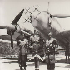 Foto Luftwaffe Flugzeug Ju 88 C-6 d. I./NJG 2 100 Feindflug Heinz-Horst Hißbach