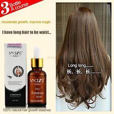 30ml Beauty Fast Hair Growth Essence Snail Care Liquid Hair Thickening Fibers