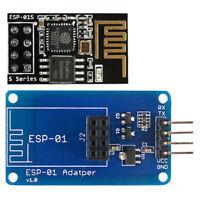 ESP8266 ESP-01S Wireless Transceiver +Breadboard Adapter Breakout ATF