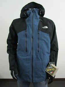 NWT Mens TNF The North Face Powderflo Gore Tex Waterproof Ski Jacket - Bluewing