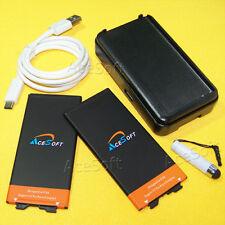 4370mAh Extended Slim Battery + Charger for LG G5 H820 H830 VS987 H845 BL-42D1F
