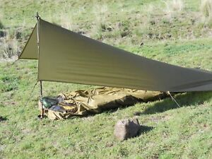 UL HIKER Ultra Light 5.75 X 9 Shelter  Olive Drab Color NO SEAM NEW!