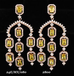 Exclusive Chandelier CZ Fashion  Earring 14 ME 20