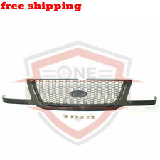 New Grill Grille Assembly Black With Silver Mesh For 01-03 Ford Ranger FO1200395