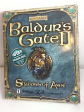 Baldur's Gate II Shadows Of Amn PC Game Complete Big Box 2000-free shipping