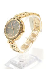 Fossil BQ3422 Karli Three-Hand Crystal Accent Rose Gold-Tone Stainless Steel ...