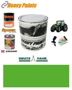 Deutz Tractor Green Paint High Endurance Enamel Paint 1 Litre Tin