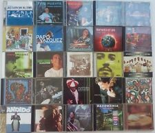 126 LATIN & AFROCUBAN JAZZ,RUMBA/SALSA CDS, FOR COLLECTORS, RARE & HARD TO FIND