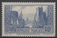 "FRANCE STAMP TIMBRE 261d "" PORT LA ROCHELLE OUTREMER TYPE II "" NEUF xx TB  N339"