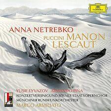 MANON LESCAUT - NETREBKO,ANNA/EYVAZOV/PINA/ARMILIATO/MRO/+  2 CD NEU PUCCINI