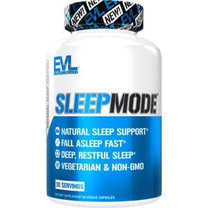 Evlution Nutrition Sleep Mode, Fall Asleep Faster, Natural Aid for Deeper Sleep