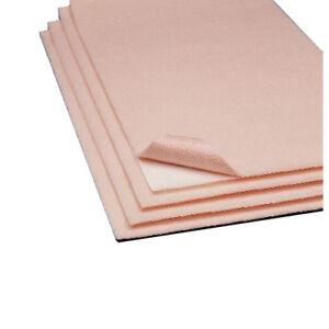 Hapla Fleecy Foam Sheet 22.5 x 45cm Pack of 4   100% Cotton Padding