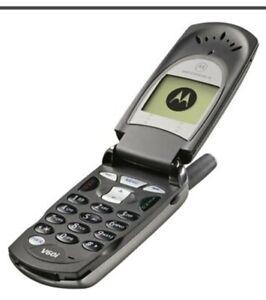 Motorola V60i Klapp Handy Dummy Attrappe ☆ retro mobile ☆ Selten ☆ Sammler