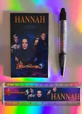 Disney Descendants 3 Stationery Set PERSONALISED ANY NAME Pen Ruler Notebook