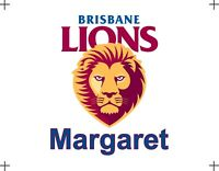 Personalised Mouse Pad - AFL Brisbane Lions Die Hard Fan, Your Name on It
