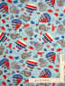 Nautical Fish Crab Octopus Boat Cotton Fabric Anchors Away Studio E By The Yard