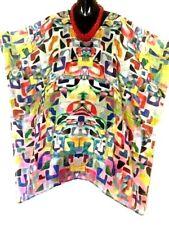 100% Silk Kaftans / Vibrant Pattern / Plus / Very light & Cool / Wholesale