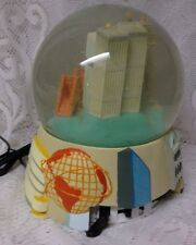 Vintage Electric Musical Celebrating the Milennium Snow Globe Dome New York