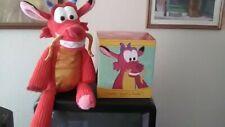 New Disney's Mulan Dragon Mushu Scentsy Buddy W/ Scent Pak Pack