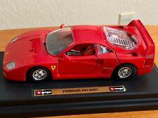 Made-in-Italy Perfect-Condition Bburago cod.1532 Ferrari F40 (1987) 1/24