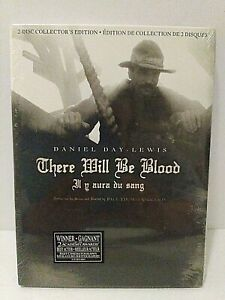 There Will Be Blood (DVD, 2008, 2-Disc Set, Collectors Edition) Brand New