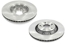 2 Front Brake Disk/Rotor L& R fits Toyota Venza 09 - 16 Coated Vented