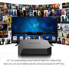 MXQ U2+-W Amlogic Android 7.1 64Bit BT4.0 TV Box 2.4G WiFi H.265 8GB ROM EU PLUG