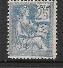 FRANCE 1900 25c bleu Mouchon EXCELLENT ÉTAT à Charnières, SG 298 c.v