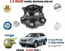FOR LEXUS RX450H HYBRID 4X4 MODELS 2008 >NEW 1 X REAR WHEEL BEARING HUB KIT