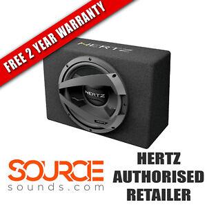 "Hertz Dieci DBX30 12"" Loaded Subwoofer Box 4 Ohm (Ω) - FREE 2 YEAR WARRANTY"