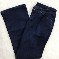 Ashley Stewart Denim Jeans Sz 16 Tall Dark Wash