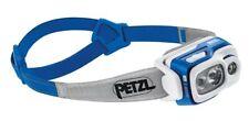 Petzl Swift RL Stirnlampe Helmlampe 900 Lumen blau