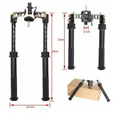 SPINA Rifle Bipod Compatible Tactical Picatinny Rail QD Adjustable for Hunting