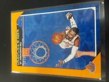 Tim Hardaway 2018-19 NBA Hoops Orange Parallel #8/25 #18 Knicks M1