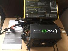 Corsair CX 750 80+ Bronze 750W Power Supply ATX PSU Black