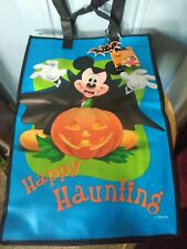 Mickey mouse vampire happy Halloween large tote trick or treat bag new with tags