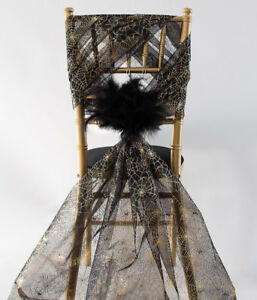 Halloween Organza Fabric Rolls Halloween Door Bow  70cm x 10m Party Decor Bow
