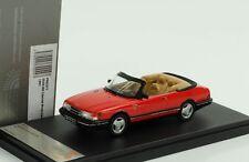 Premium x 1 43 SAAB 900 Turbo Cabriolet 1991 (red)