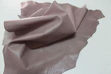 Italian THICK Goatskin leather skin skins hides hide  TAUPE 9sqf