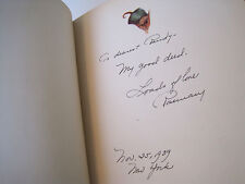 AUTHUR INSCRIBED THE LONELY DWARF 1939CHILDRENS HC BOOK~1ST EDIT~ROSEMARY LAMKEY