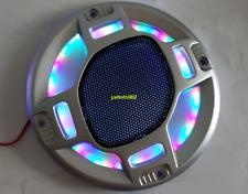 "1pcs 5.5""inch 155 Color flashing speaker grilles LED lights decorative net cover"